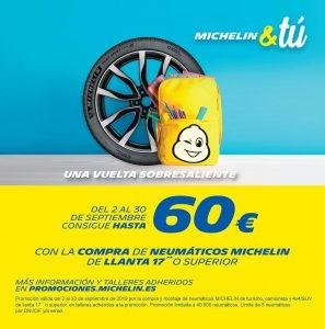 Promoción Septiembre Michelin