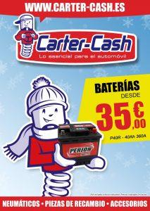 Portada folleto Carter Cash diciembre