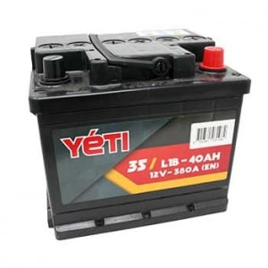 35 - YETIL1B BAT 40AMP 380A
