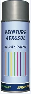 SPRAY PINTURA 400ML SILVER
