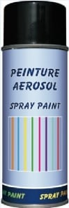 SPRAY PINTURA 400ML BLACK